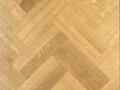 Parquet batters laid in Double Herringbone